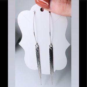 ♡ 2 for 20$ ♡ Silver Drop Earrings